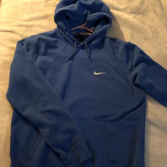 nike hoodie royal blue